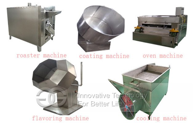 fish skin peanut making machine