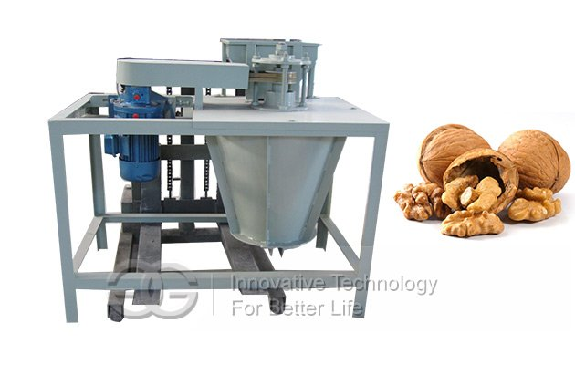 Commercial Walnut Cracker Machine|Walnut Dehulling Equipment