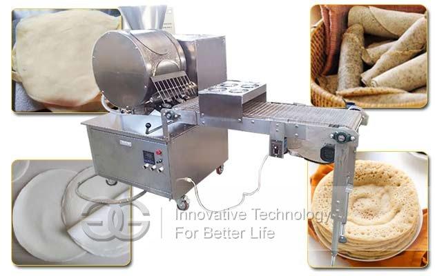 Automatic Injera Making Machine|Spring Roll Wrapper Crepe Machine