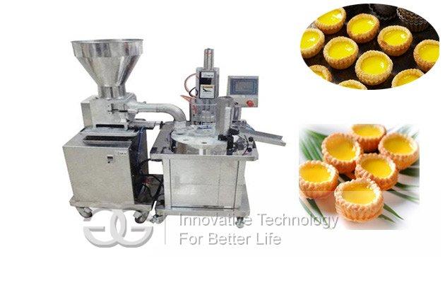 Semi-automatic Egg Tart Making Machine|Commercial Egg Tart Making Machine