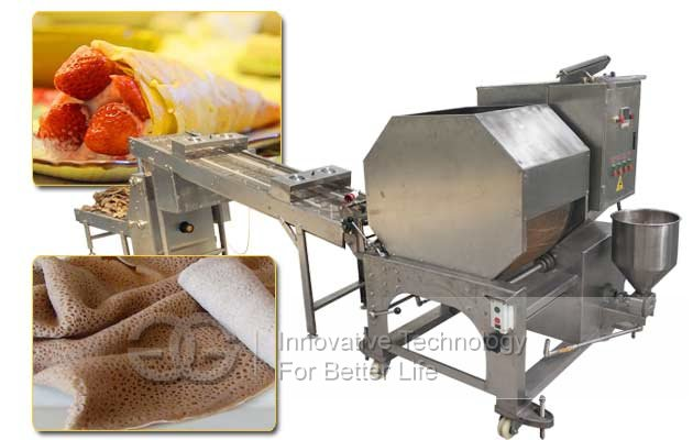 Automatic Injera Tortilla Making Machine|Spring Roll Wrapper Crepe Machine