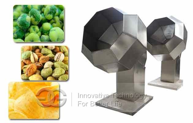 Potato Chips Flavoring Machine|Snack Namkeen Seasoning Machine