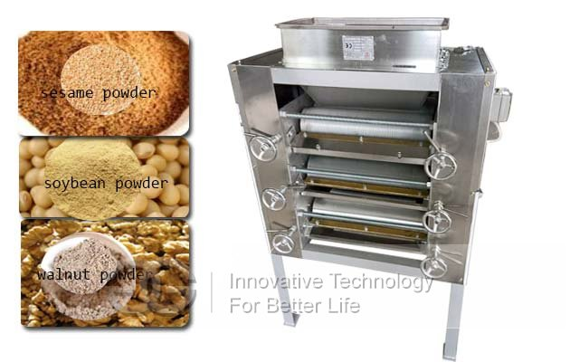 Stainless Steel Almond Sesame Flour Grinder|Peanut Powder Mill