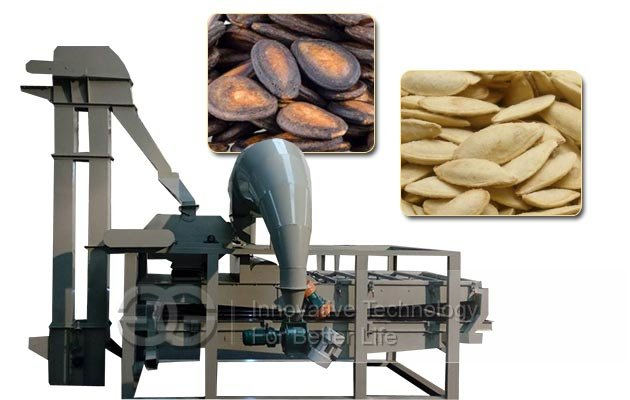 Full-Automatic Multi-functional Pumpkin Seeds Shelling Machine|Melon Seeds Dehuller Machine