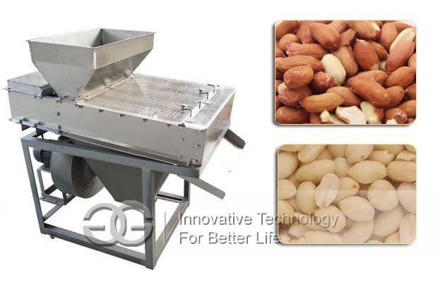 Dry Peanuts Peeling Machine|Roasted Peanuts Skin Remover Equipment