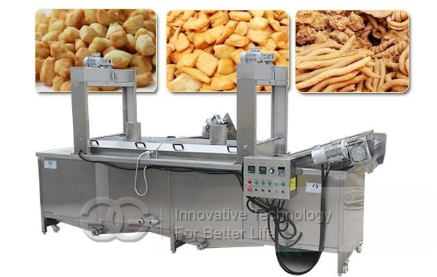 Continuous Chin chin Fryer Machine|Snack Food Frying Equipment
