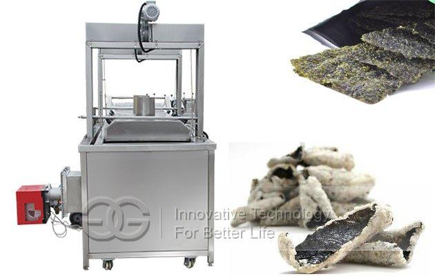 Automatic Seaweed Snack Deep Frying Machine|Commercial Seaweed Fryer