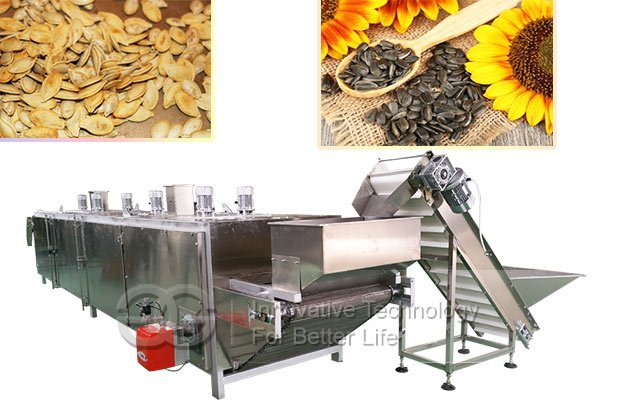 Sunflower Seed Roasting Machine|Melon Seed Roasting Processing Line