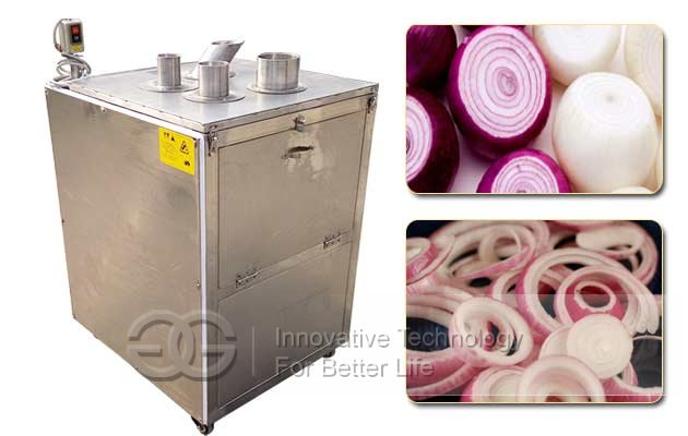 Onion Rings Cutting Machine|Commercial Onion Slicing Machine