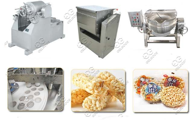 Puffed Rice Cakes Machine|Rice Krispies Treat Machine On Sale