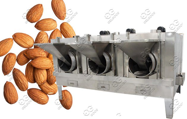 Cashew Pistachio Nut Roaster Machine|Automatic Peanut Roasting Machine Price