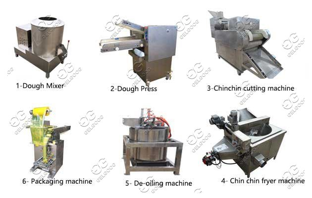 Automatic Chin Chin Making Frying Line|Nigerian Chin Chin Machine