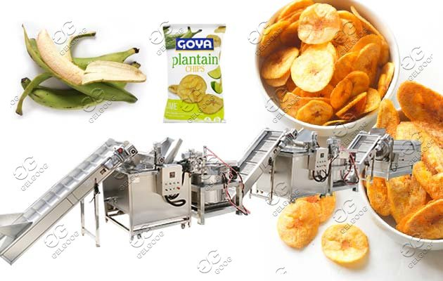 Industrial Plantain Chips Kpekere Making Machine Price