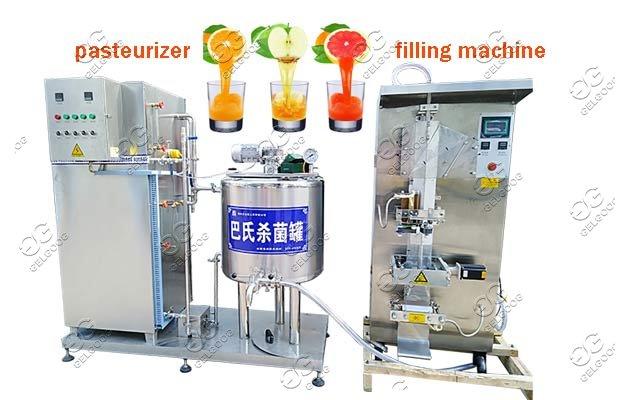 Automatic Juice Pasteurizer Machine|Milk Sterilizer Machine Manufacturer