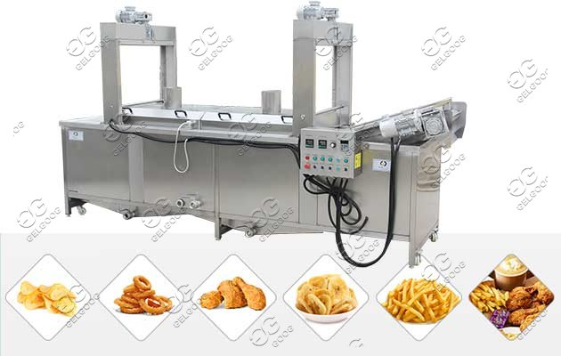Automatic Potato Chips Frying Machine Price|Finger Chips Fryer
