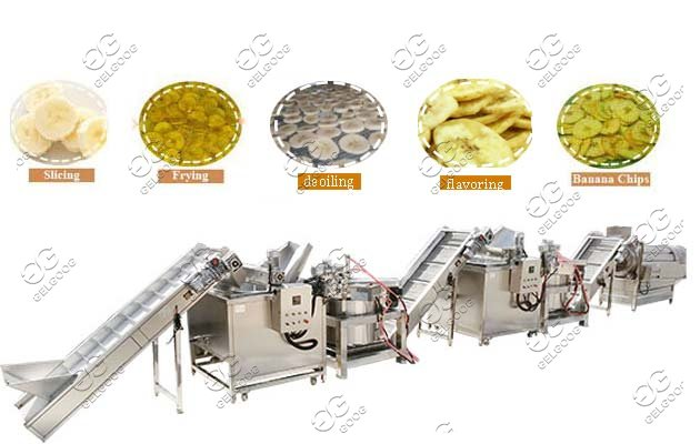 Automatic Banana Chips Production Line|Plantain Chips Making Equipment