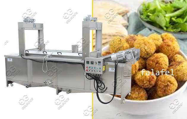 Automatic Falafel Frying Machine For Sale Fried Chickpea Patties Machine