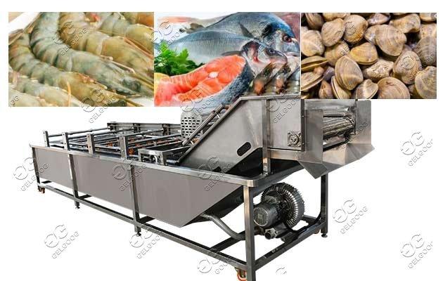 Fisheries Cleaning Equipment Aquatic Seashell Washing Machine For Sale