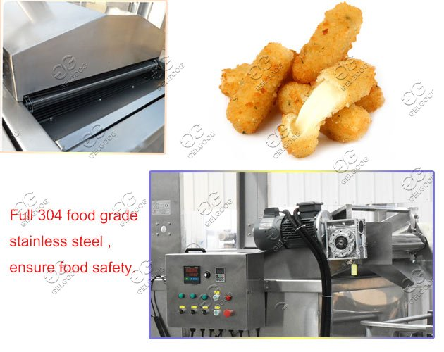 cheese stick frying machine