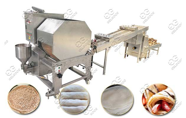 Stainless Steel Spring Roll Wrapper Making Machine Manufacturer