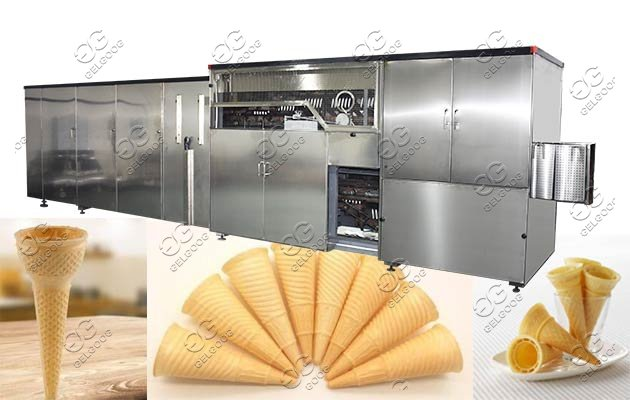 Automatic Ice Cream Wafer Cone Machine Plan Hot Sale