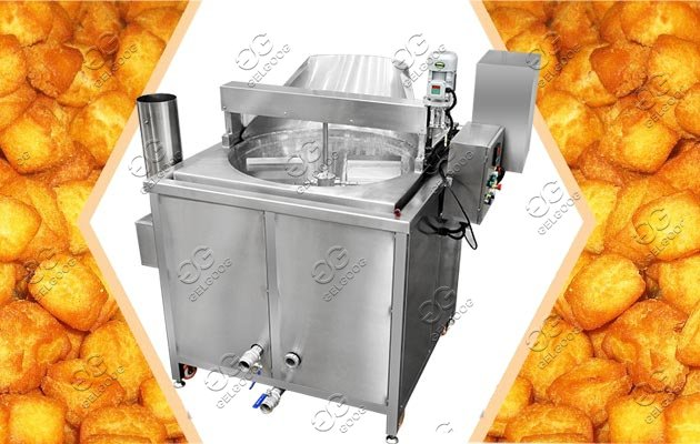 Automatic Gas Heating Chin Chin Fryer Machine For Sale