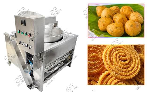 Commercial Kurkure Slanty Frying machine |Murukku Bonda Fryer machine Price
