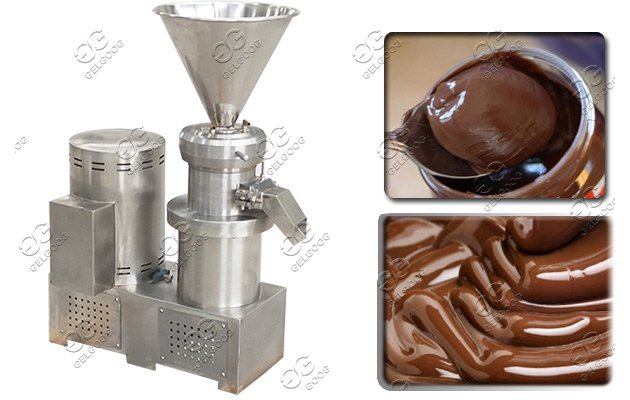 cocoa bean paste grinding machine