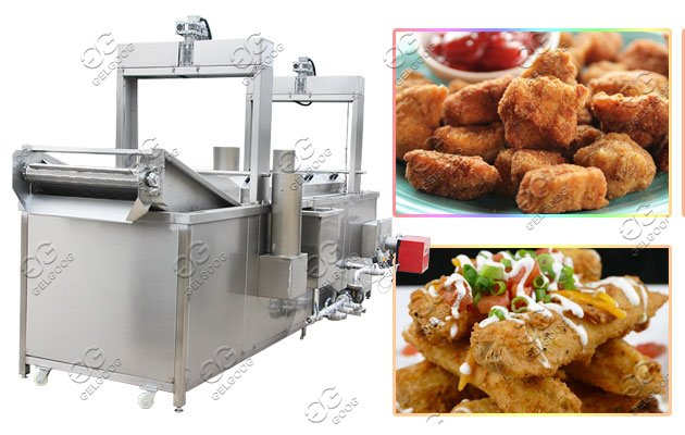 Commercial Fried Tamales Fryer Machine Price