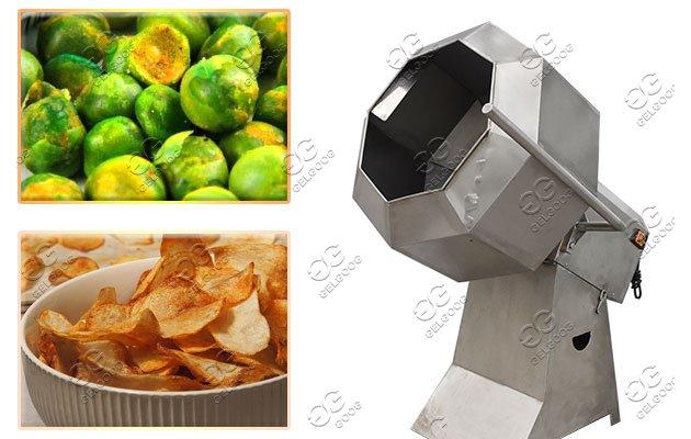 Potato Chips Flavoring Machine|Snack Namkeen Seasoning Machine