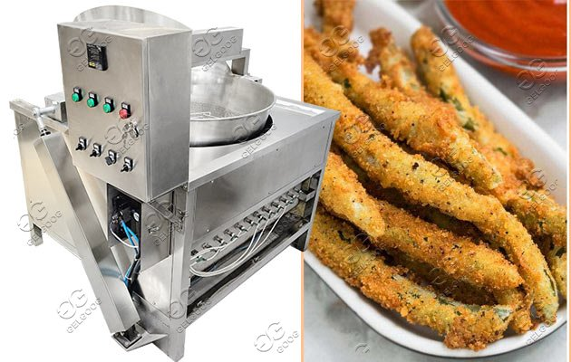 snack frying machine
