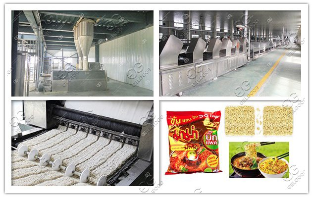 Non Fried Instant Noodles Production line|Baked Instant Noodles Machine