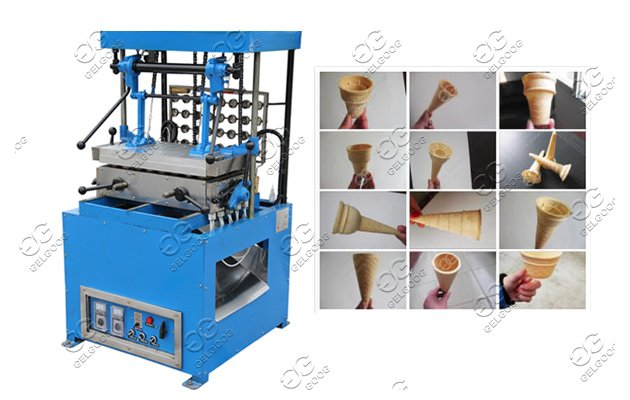 Wafer Ice Cream Cones Machine - Can Be Changed Moulds