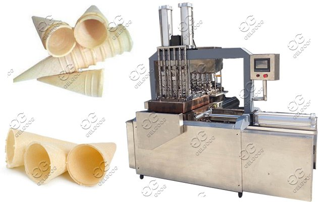 Commercial Ice Cream Wafer Cone Making Machine Factory Price