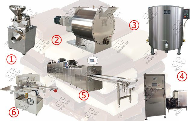 Automatic Chocolate Making Machine Line Hot Sale
