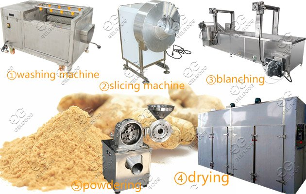 Ginger Powder Processing Line Powdered Ginger Processin Plant