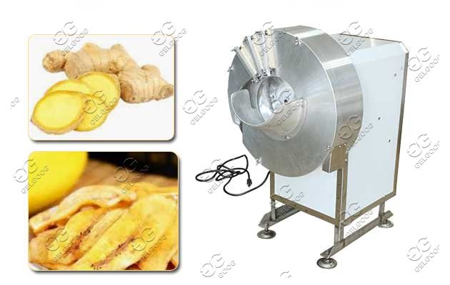 Ginger Cutting Machine Banana Long Slicing Machine