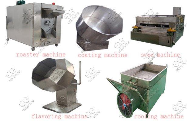 Coated Peanuts Processing Line|Flour-coated Peanuts Machine