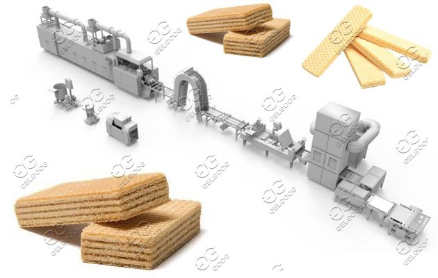 Wafer Biscuit Production Line 27 Moulds|Biscuit Wafer Making Plant