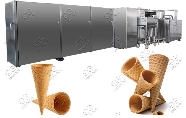 Ice Cream Cones Baking Plant|Ice Cream Waffle Cones Machine