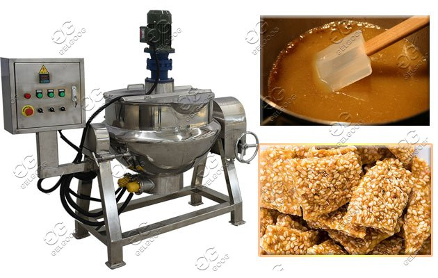 Sugar Melting Cooker Machine|Jacketed Brew Kettle Sugar Making Machine