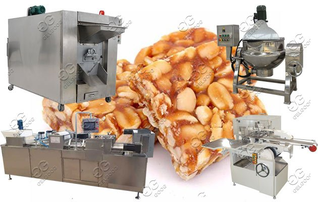 Croquant Bar Production Line|Crispy Brittle Bar Making Machines