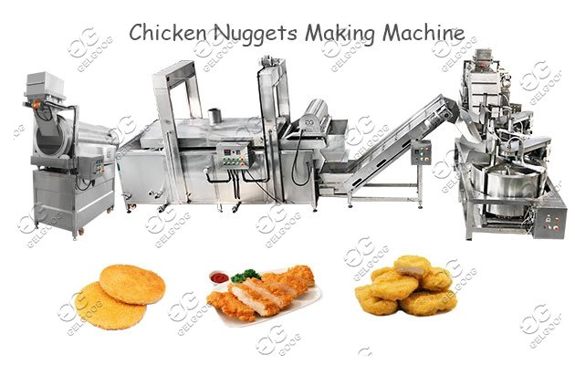 SS304 Commercial Chicken Nuggets Making Machine Manufacturer