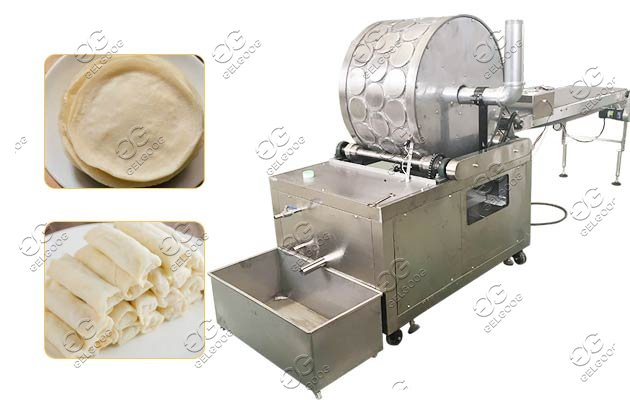 0.3-2mm Automatic Spring Roll Wrapper Making Machine Latest Price