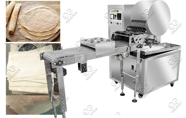Commercial Injera Making Machine Continuous Enjera Equipment Price