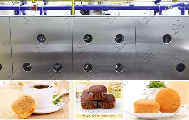 Industrial Baking Tunnel Oven For Bakery Biscuit & Cake