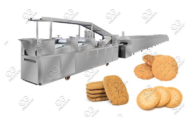 Complete Biscuit Cookie Production Line Plant Price