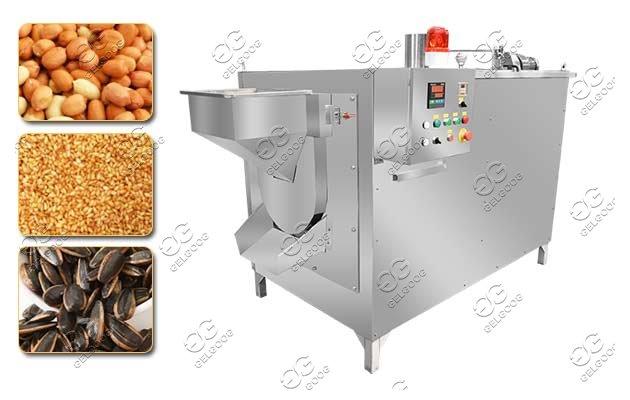 Multi-purpose Dry Nuts Seeds Beans Roasting Machine
