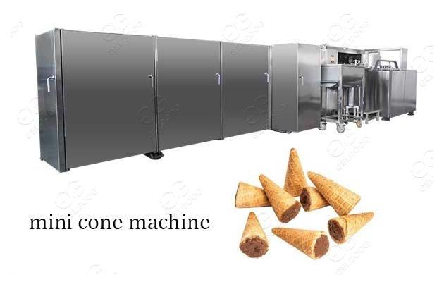 Mini Ice Cream Cone Machine Production Line Supplier