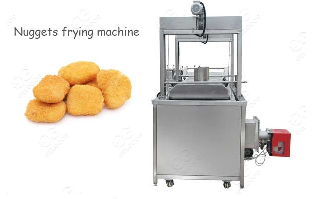 Continuous Chicken Nuggets Frying Machine Price